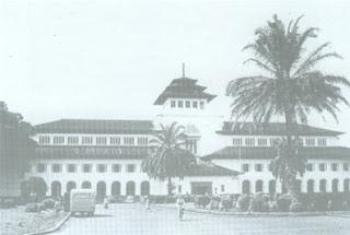 Gedung sate - Koleksi Foto Bandung Tempo Doeloe