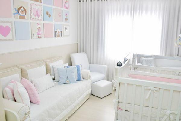 Atelier juliane padr o decorando quarto de beb - Habitaciones para bebes gemelos ...