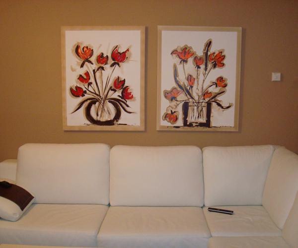 dise o decoraci n y enmarcajes cuadros en el salon