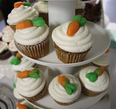 carrot cupcake live to {cupcake} party