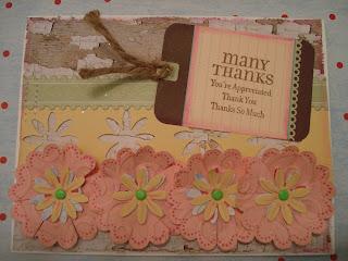 tarjetas hechas a mano, muchas gracias