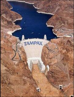 Creative advertising -  Tampax