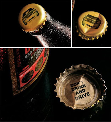 Don't drink advertisement