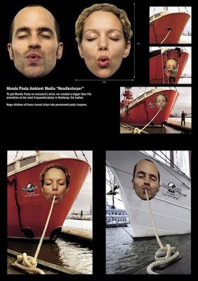 Boat creative ad