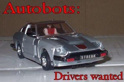 Funny autobots ad