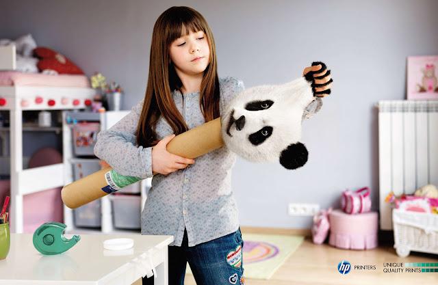 HP printers ads - Panda