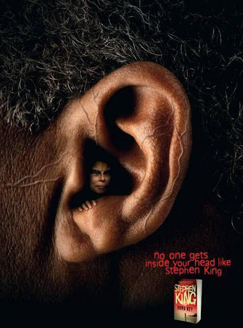 Stephen King creative advertisement