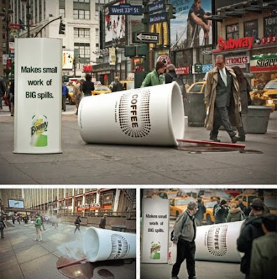 Bounty paper towels coffee advertisement