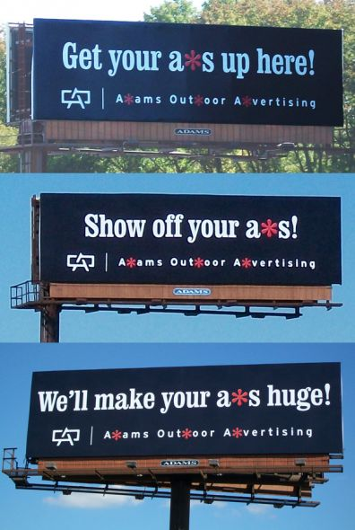 Adams outdoor advertising billboard