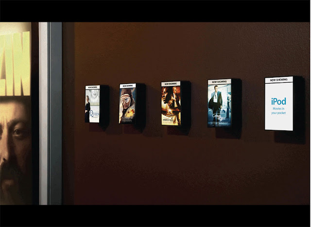 iPod nano advertising campaign - Mini posters