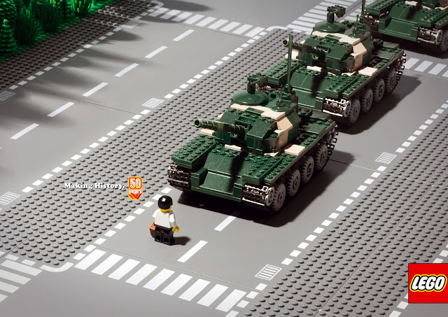 Lego: Making history advertisement- Tanks