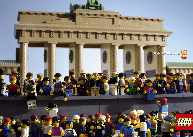 Lego: Making  history - Brandenburg Gate advertisement