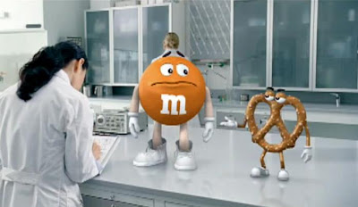 M&M's - Pretzel TV advertisement