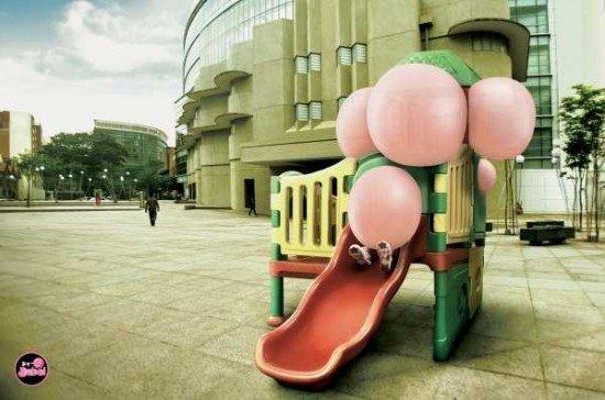 Funny cewing gum ads