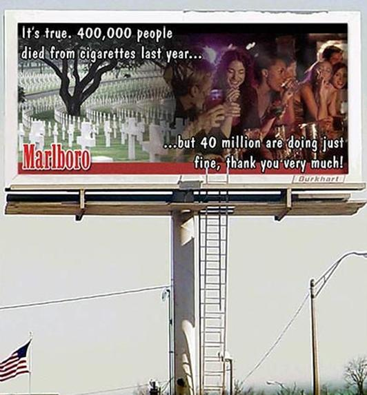 Funny billboards - Marlboro