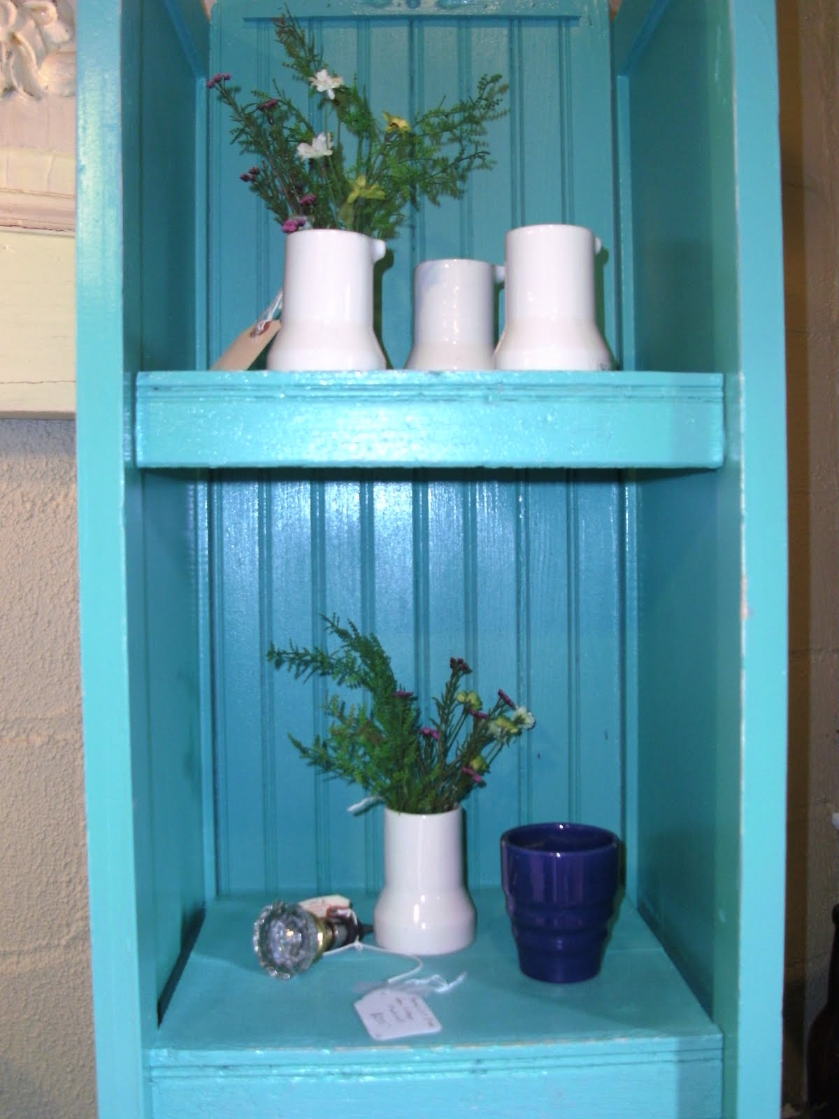 Bluedoor is one of the malls that we are in here in Grand Rapids. I loved  these 1940's diner white ironstone creamers that Dan found recently at an  auction. - True North Interior Design & Antiques: Spring Fever @ Bluedoor