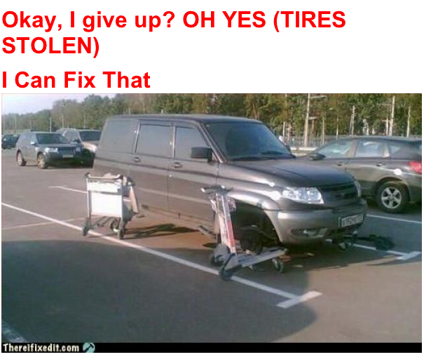 FlagstaffRealEstate: Friday Fun! Men Can Fix Anything : )