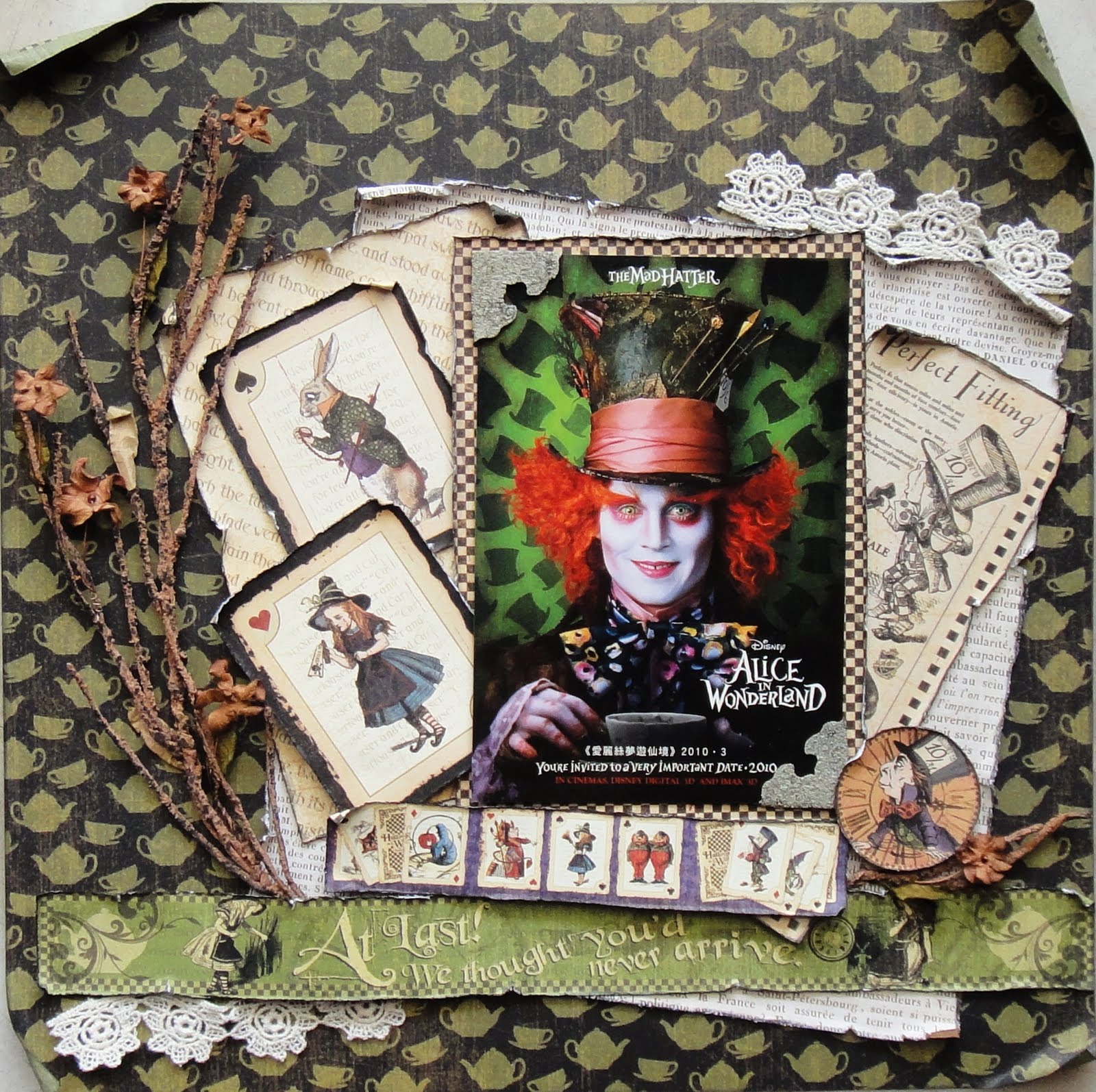 Treasured Moments Alice In Wonderland The Mad Hatter
