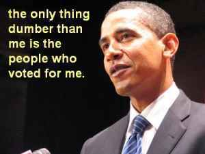 obama my dumb voters