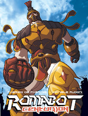 ROMABOT CENTURION - LA GRAPHIC NOVEL!!!!