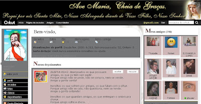 Tema skin para Orkut  Religioso