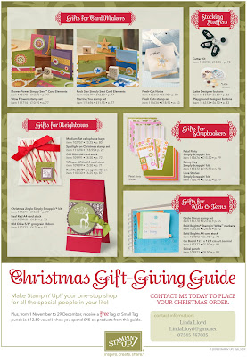 Stampin' Up! Holiday Extravaganza brochure