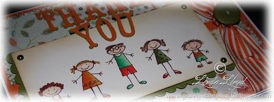 Pumpkin Pie Stampin' Up! Thank You card thumbnail