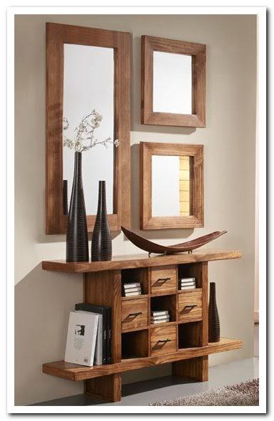 Recibidores r sticos - Muebles de recibidor modernos ...