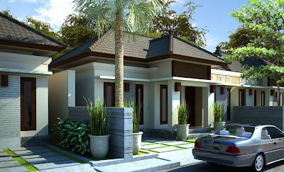 desain rumah type 45