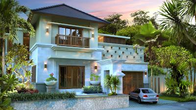 desain rumah, interior, villa, type 300, minimalis