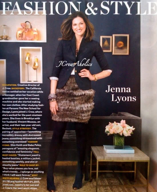 Jenna Lyons j Crew Creative