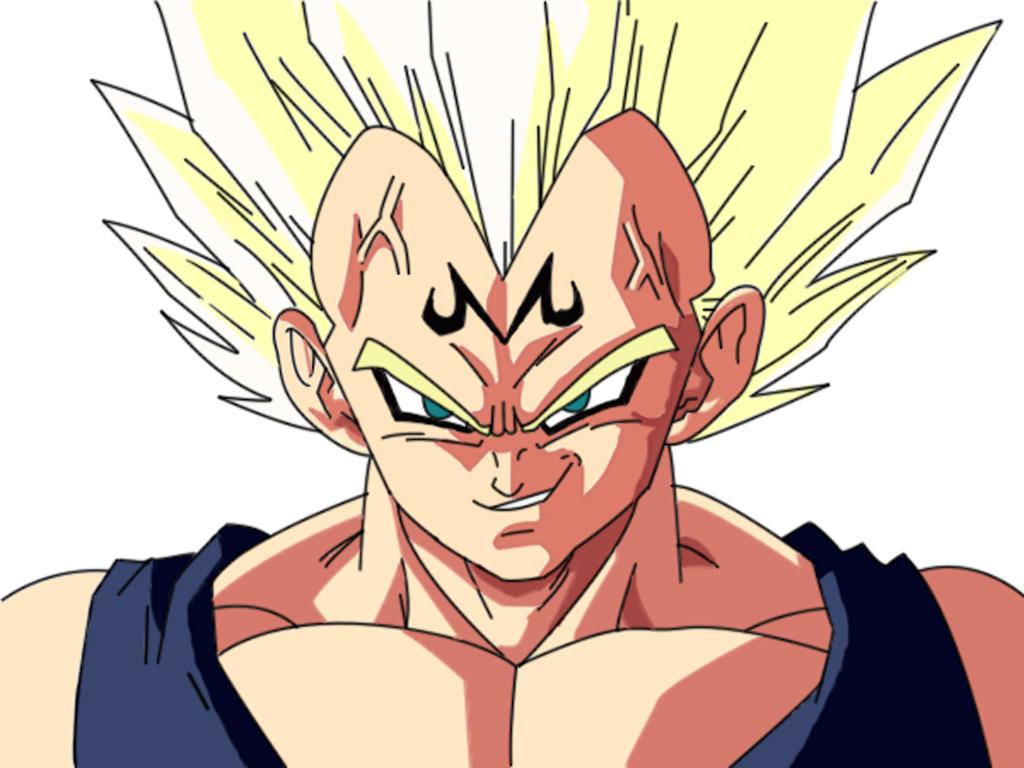 Displaying 17> Images For - Majin Vegeta Vs Goku Wallpaper...