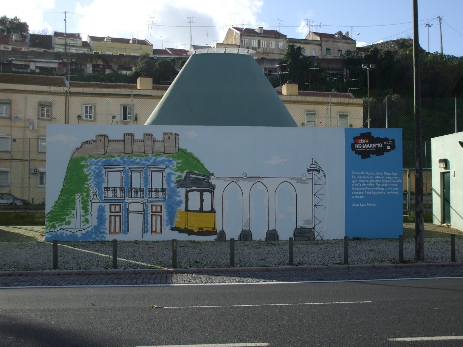 banco de jardim poesia:RIA DA MINHA ALDEIA: José Luís Peixoto: poemas nos muros de Lisboa
