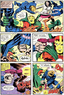 Mister Miracle v1 #13 dc bronze age comic book page art by Jack Kirby