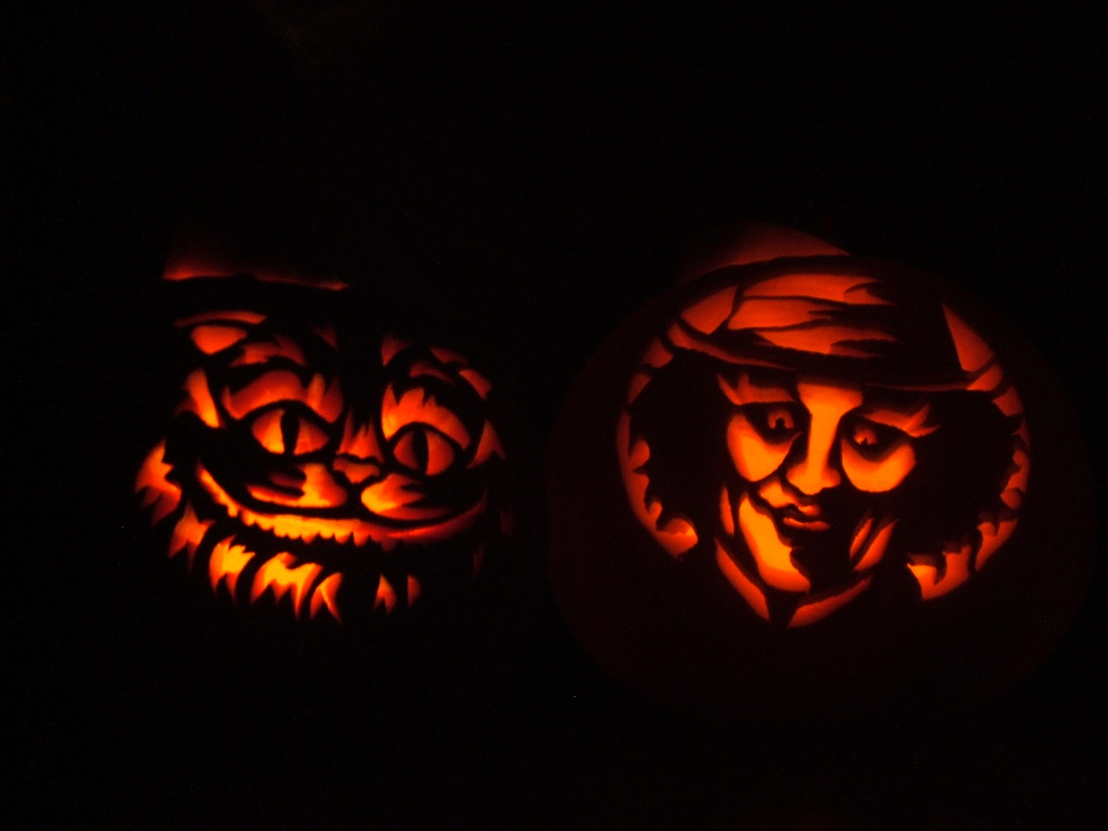 Alice in wonderland pumpkin carving patterns imgkid
