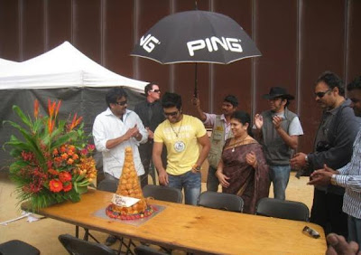 Cake at Ramcharan teja birthday.JPG