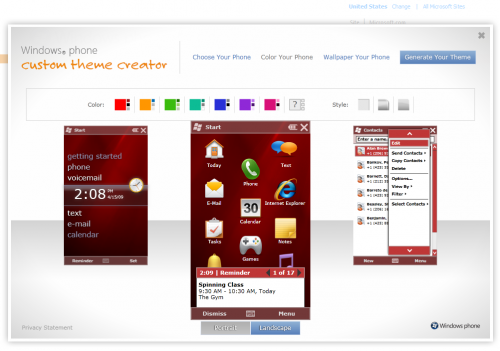 windows mobile themes freeware