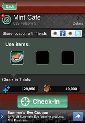 Mytown iphone app.