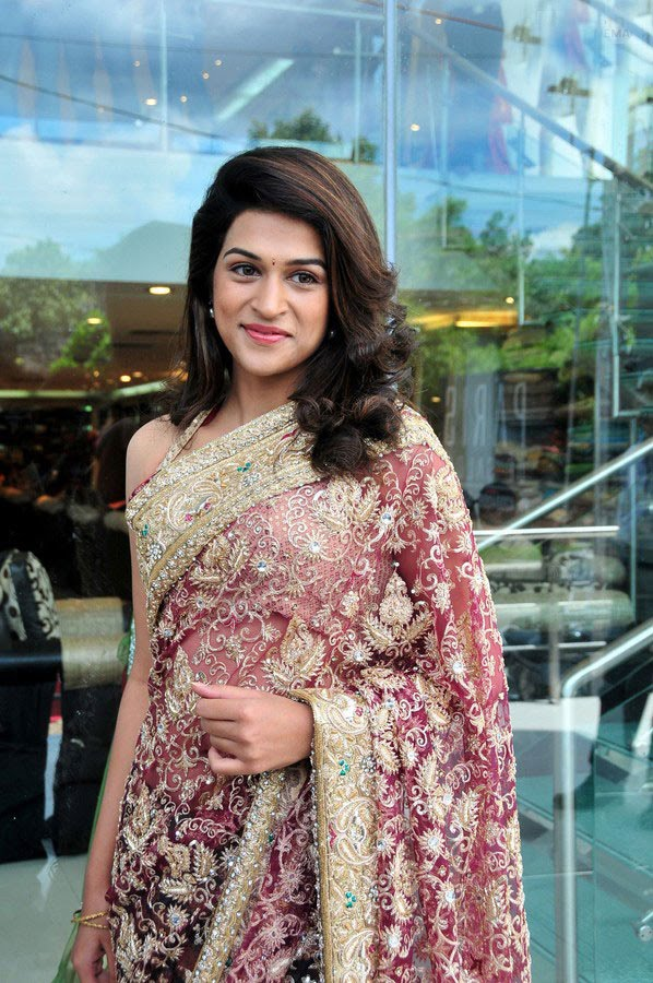 , Shraddha Das in Saree - Sexy Pics