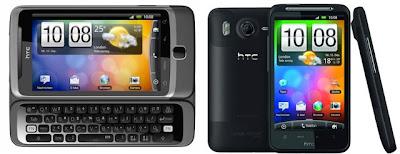 HTC Desire HD and Desire Z