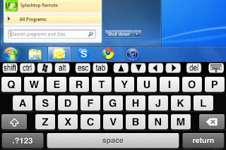 Splashtop remote desktop iPhone app