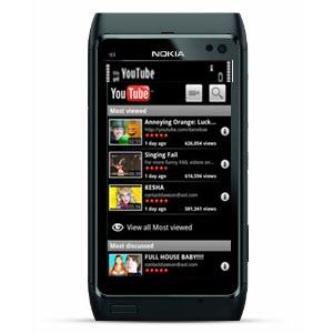 nokia n8 youtube app