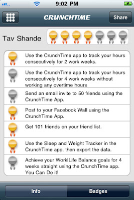 crunchtime iphone app
