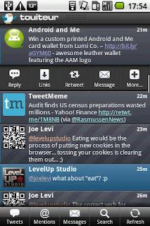 touiteur android app