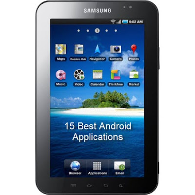 Samsung Galaxy Tab Best Apps