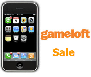 iPhone Gameloft Games on Sale