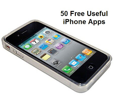 50 Useful Free iPhone Apps