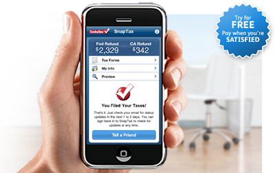 Snaptax iphone and android tax filling App