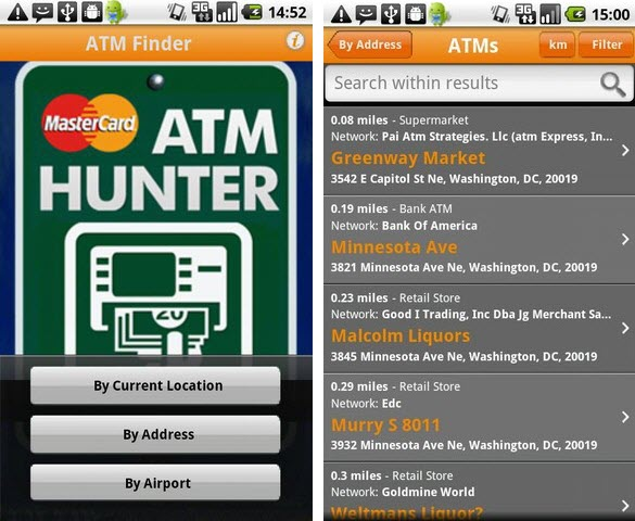 ATM Hunter app for Android from MasterCard Launched ...