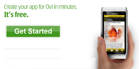 Create your own Ovi app